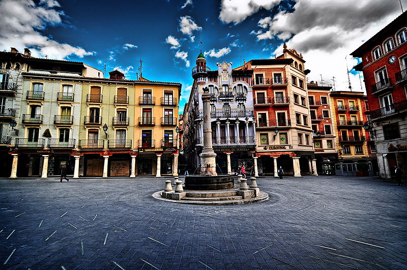 Plaza del Torico By José Luis Mieza CC BY 2.0 via Wikimedia Commons