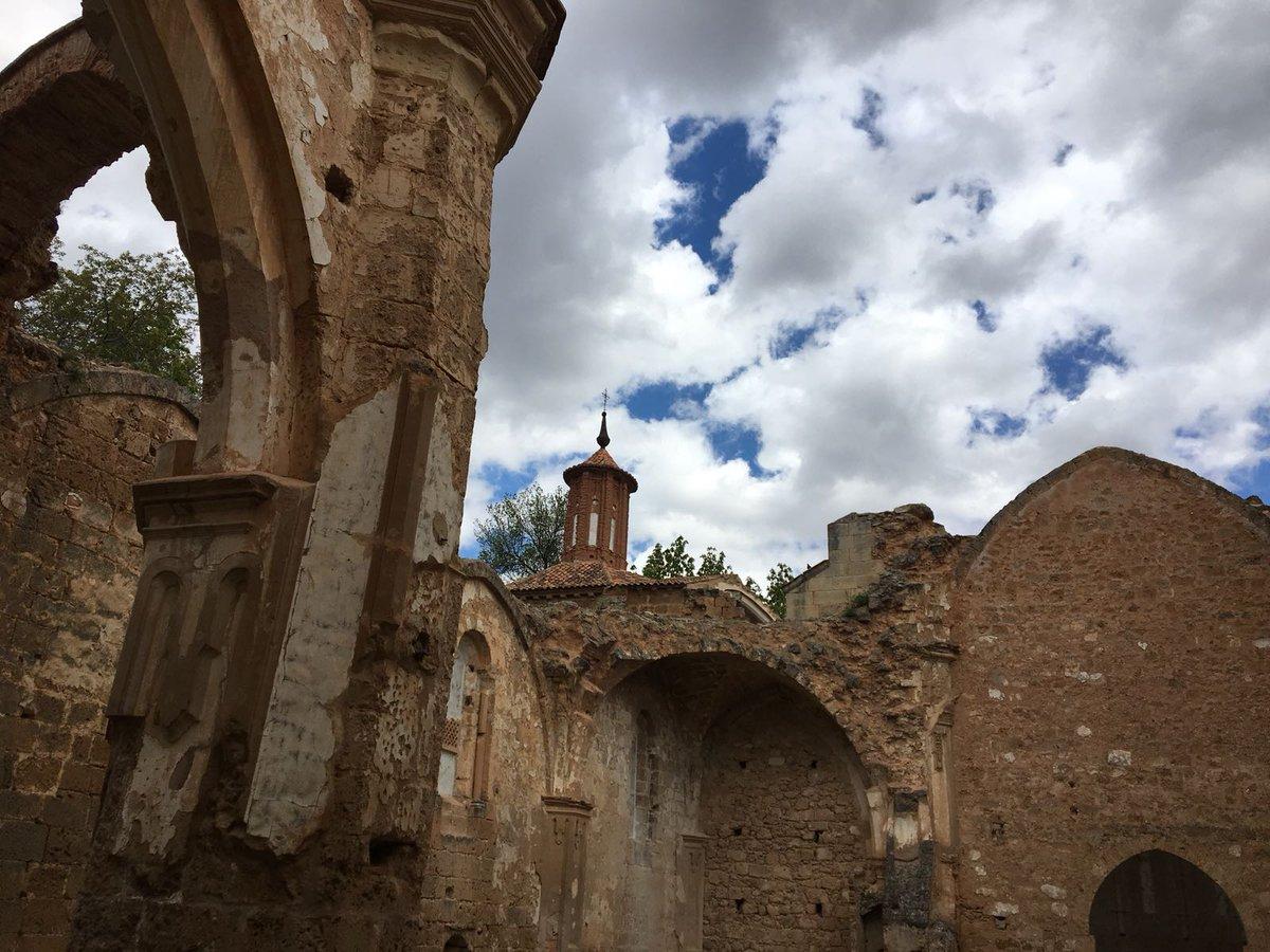Ruinas de lo que fue el monasterio en el Monasterio de Piedra