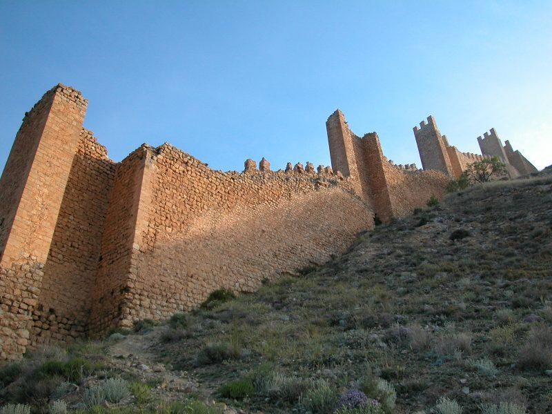 Muralla de Albarracín, uno de los pueblos más bonitos de España
