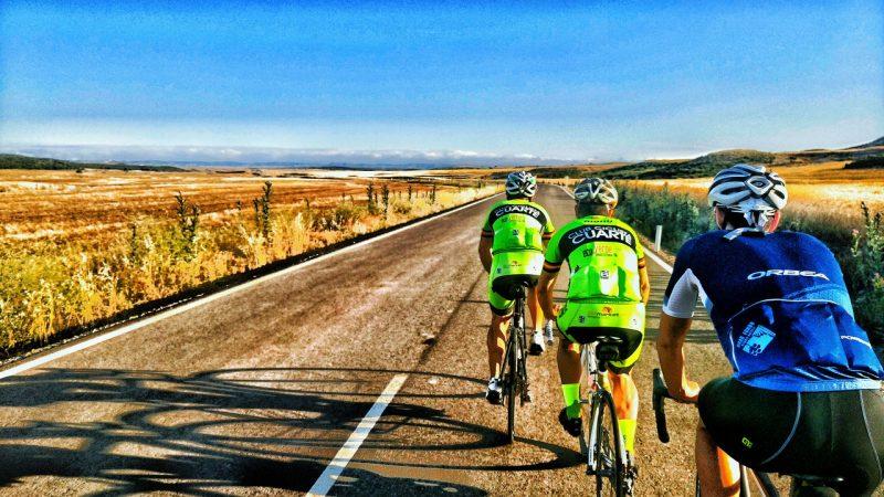 Cuarte de Huerva - Salida del Club Ciclista de Cuarte de Huerva
