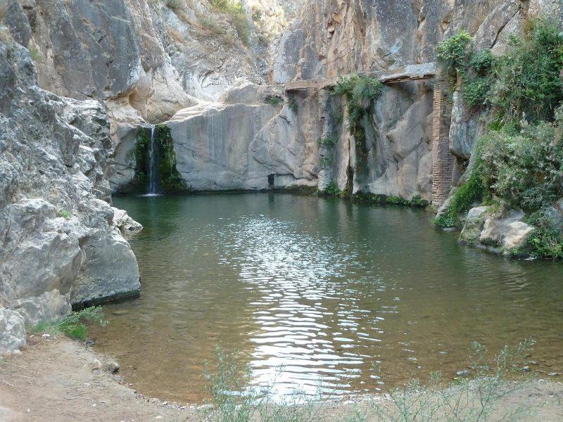 Bañarte en Aragón - Pozo de los Chorros - Imagen de wikiloc.com