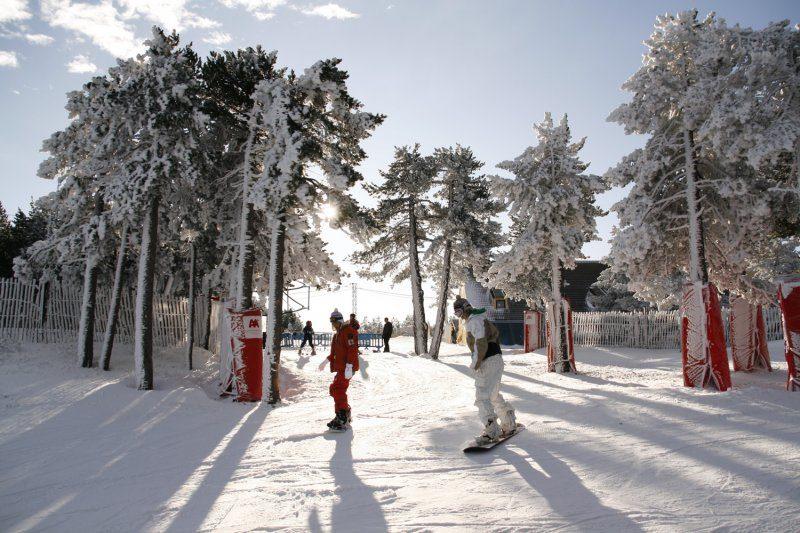 Estaciones de esqui en Aragón -valdelinares