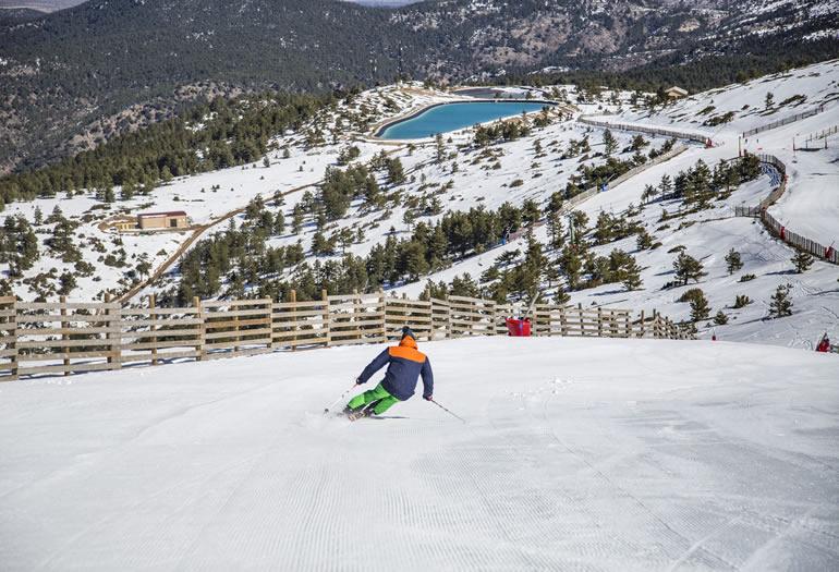 estaciones de esqui en aragon - javalambre