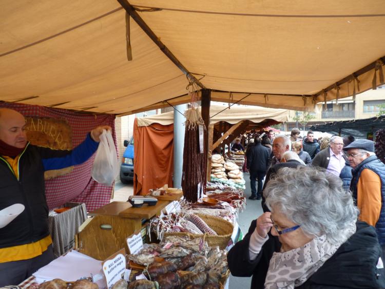 La feria de la candelera se celebra en Barbastro desde hace más de 500 años - barbastro org