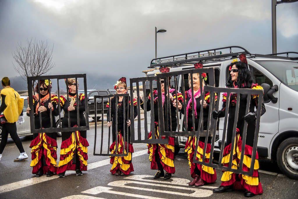 El carnaval de la fueva uno de los más importantes de Aragón