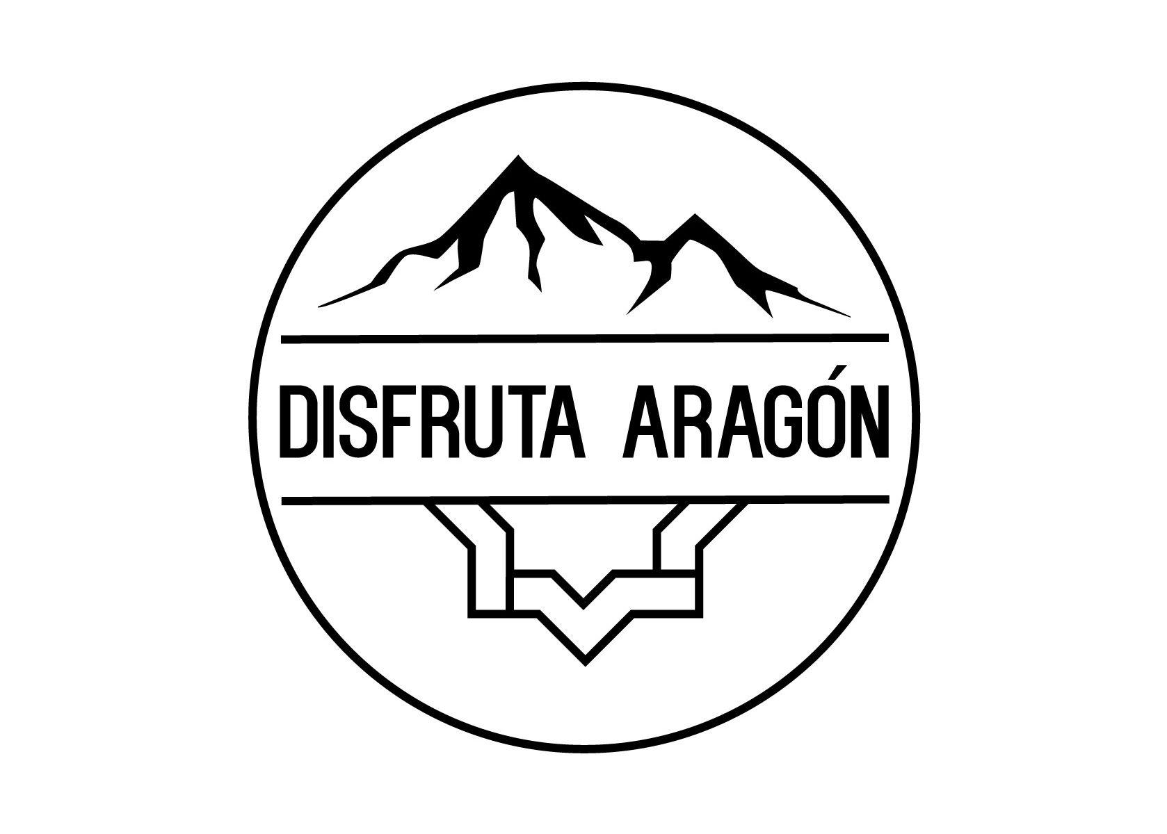 Nuevo logo de Disfruta Aragón en el que todos los rincones de la comunidad están representados