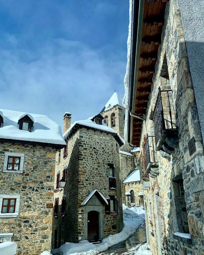 Las mejores fotos invernales de Aragón - Provincia de Huesca - Lanuza en invierno - arantzacarretie