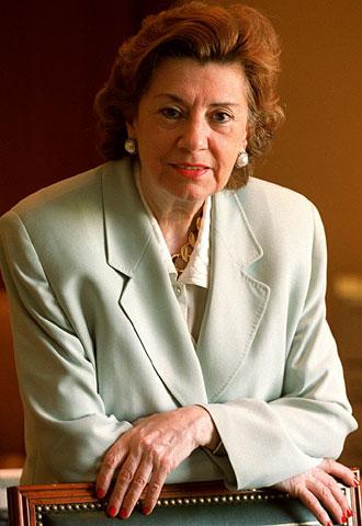 María Teresa Estevan Bolea mujer aragonesa referente mundial en Ingeniería