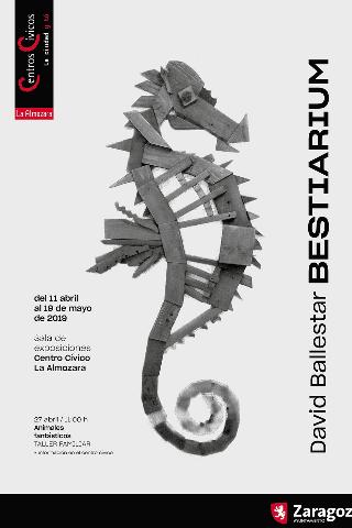 David Ballestar nos trae su exposición Bestiarium uno de los planes para el día del libro en Zaragoza que no te puedes perder