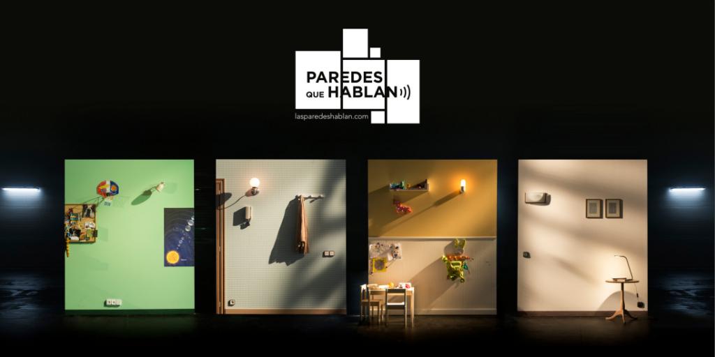 Exposición Paredes que hablan uno de los planes para el Día del Libro en Zaragoza