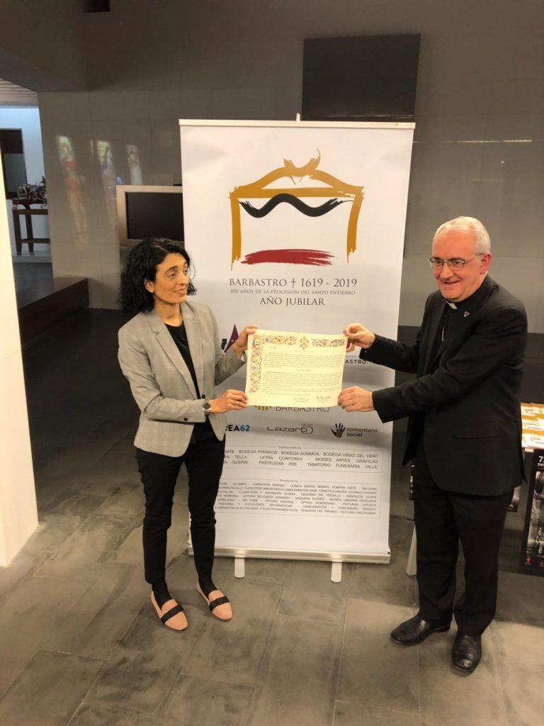 La Santa Sede concede un Año Jubilar a la diócesis de Barbastro-Monzón