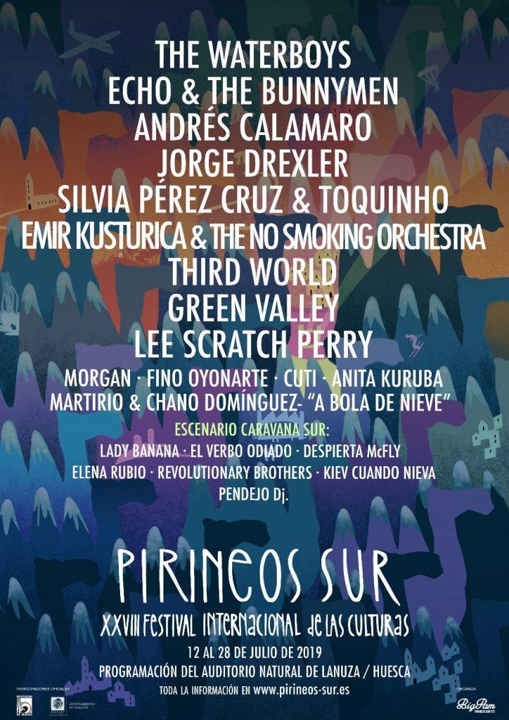 El cartel de Pirineos Sur pone en valor la música aragonesa - Disfruta Aragón