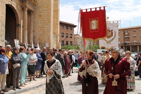La parte religiosa de las fiestas de Daroca 2019 de la provincia de Zaragoza - Zaragoza Buenas Noticias