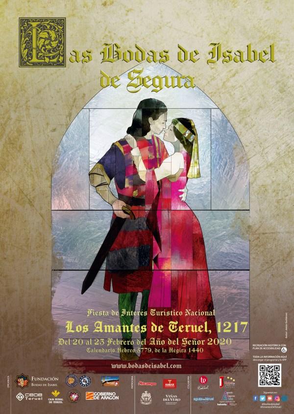 Cartel anunciador de las Bodas de Isabel de Segura para este año 2020