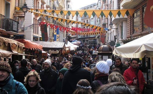 Foto de Eco de Teruel - Mercado medieval en la calle San Juan de Teruel