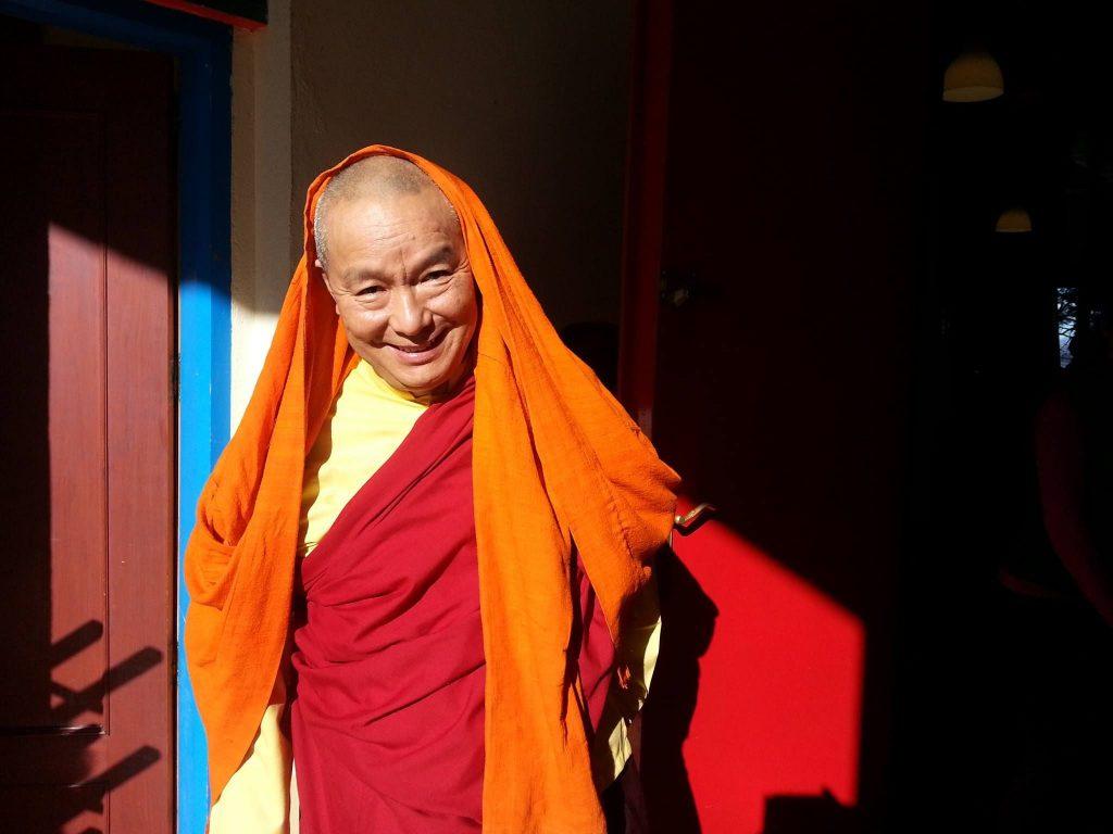 Fuente dskpanillo.org. Uno de los lamas del monasterio budista de Panillo