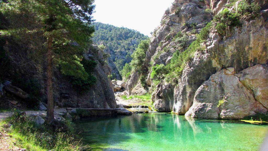 Fuente Wikimedia Commons. El Parrizal, paisaje natural del Matarraña.