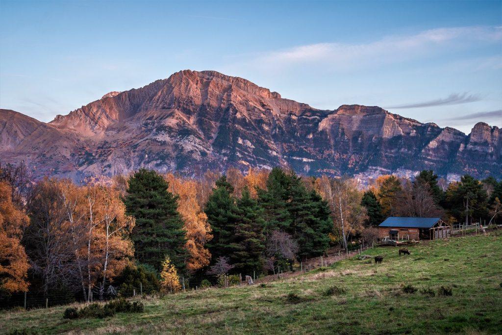 El parque faunístico de Lacuniacha en el corazón de los Pirineos, en Piedrafita de Jaca